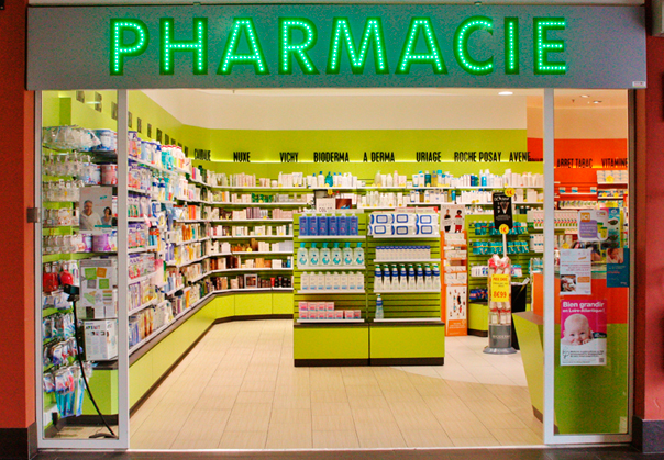 PHARMACIE-Illustration